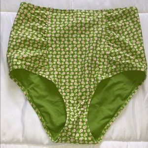 Aerie printed bikini bottoms